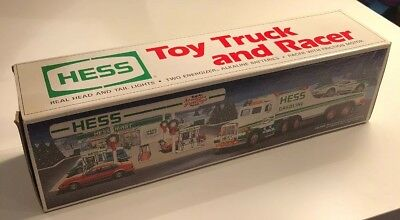 1991 Hess Truck - Toy Truck And Racer - New In Box