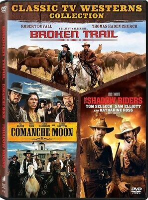 CLASSIC TV WESTERNS COLLECTION New DVD Broken Trail Comanche Moon Shadow Riders
