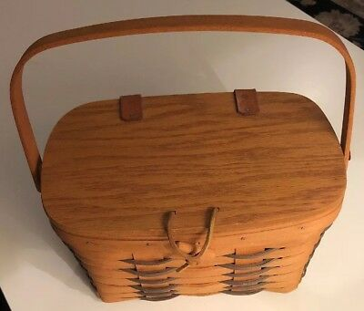 Vintage 1994 Longaberger Heartland Small Purse In Excellent Condition