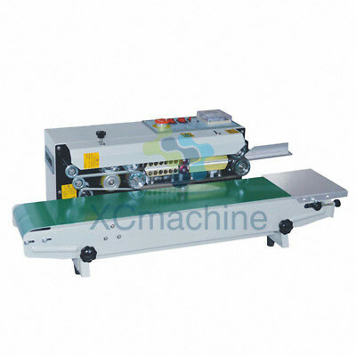 Automatic Continuous Bag Sealing Machine Band Sealer Horizontal Plastic Film
