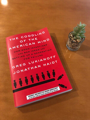 The Coddling of the American Mind: How Good Intentions...Hardcove_Freeship_New