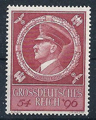 THIRD REICH 1944 mint MNH Hitler's 55th birthday stamp!