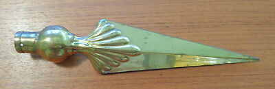 Vintage Antique Christmas Brass Tree Topper