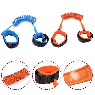 Toddler Baby Kid Safety Harness Hand Belt Anti-lost Walking Strap Wrist Leash MO