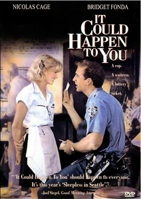 IT COULD HAPPEN TO YOU New Sealed DVD Nicholas Cage Bridget Fonda Rosie Perez