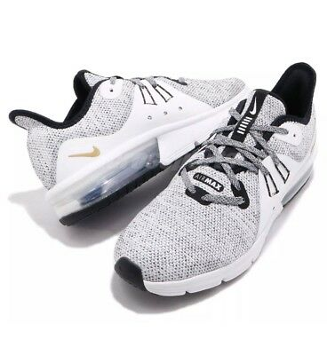 d624c26507 BOYS NIKE AIR Max Sequent 3 GS 922884 007 Girls Trainers White ...