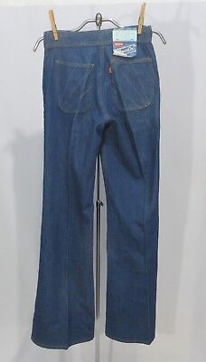 Vintage Levi's Denim Jeans Pants Movin On 1975 Dead Stock NWT High Waist