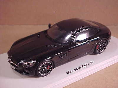 """Spark #S1073 1/43 Resin 2016 Mercedes AMG Gt """" Schwarze Serie """" Coupe mit LHD"""