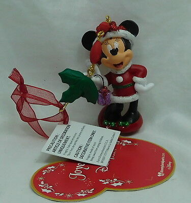 Disney Disneyland Paris Hanging Ornament Weihnachten Minnie Mouse