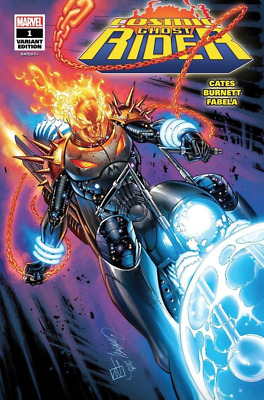 Cosmic Ghost Rider #1 SDCC 2018 Glow in the Dark Campbell variant - polybagged