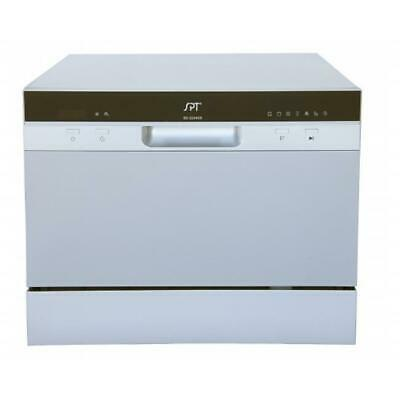 Sunpentown SD-2224DS Countertop Dishwasher with Delay Start in Silver