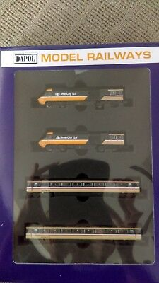 Dapol N Gauge Intercity HST Bookend Set - DCC Fitted in Power and Dummy Engines