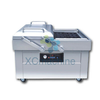 Table-style Double Chamber Vacuum Packing Machine DZ500/2SB Factory Outlet
