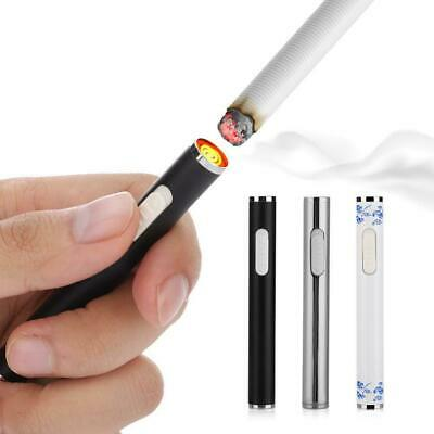 1xElectric Arc Flameless Cigarette Lighter Plasma Windproof USB Recharge Lighter