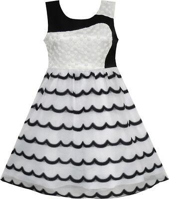 be19ad9ba GIRLS SORBET ROSETTE White Sleeveless Dress Size 4 (A168) -  16.00 ...