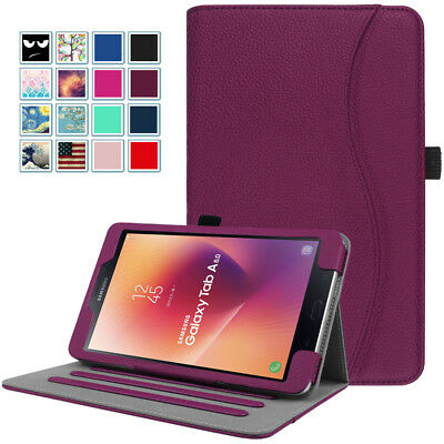 For Samsung Galaxy Tab A 8.0'' SM-387 2018 / SM-T380 2017 Folio Case Stand Cover