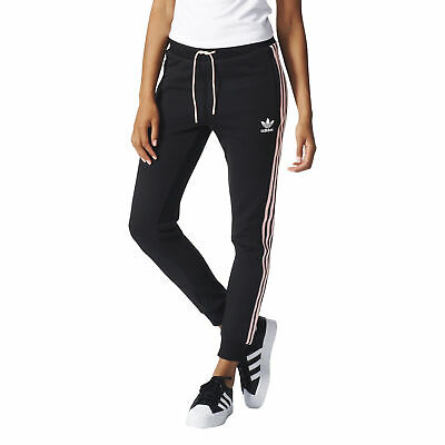 27c8ae341ea49 ADIDAS ORIGINALS 3-STRIPES Women's Athletic Track Pants Black/White ...