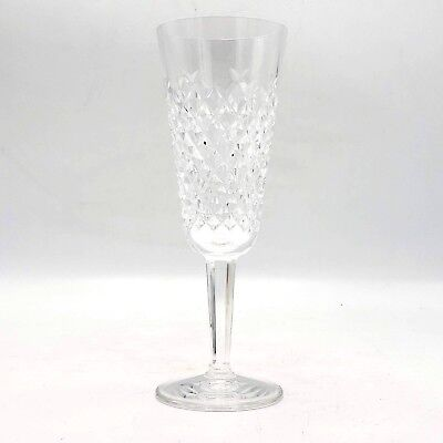 Beautiful WATERFORD Irish Crystal ALANA Fluted Champagne Glass ~ 7 1/4""