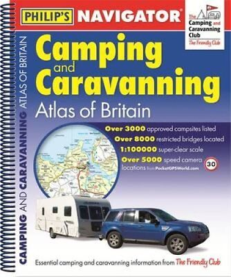 Philip's Navigator Camping and Caravanning Atlas of Britain: Sp... 9781849074056