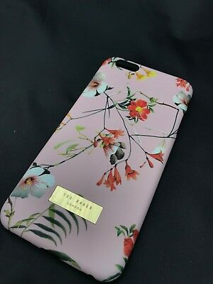 b9a1a60bc GENUINE TED BAKER Apple iPhone 6 Plus   6s Plus Flowers Case - £8.99 ...