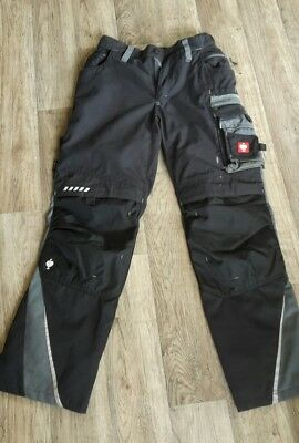 Engelbert Strauss Bundhose e.s. motion Winter Gr. 42 ca. Gr. 170 schwarz TOP!