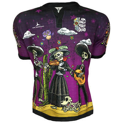 Olorun Only Half Dead S/S Rugby Shirt S-6XL