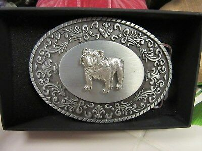 Very Handsome English Bulldog Belt Buckle-Limited Edition
