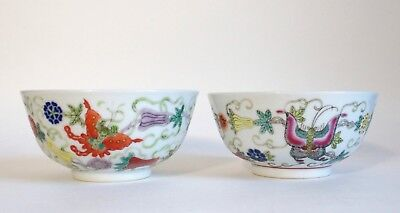 Two fine 20th century Chinese Republic porcelain bowls