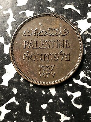 1937 Palestine 1 Mil (3 Available) Circulated (1 Coin Only)