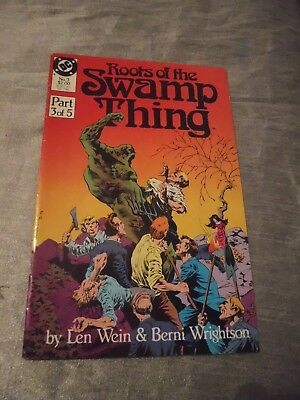 Roots of the Swamp Thing #3 classic Wrightson  reprints DC 1986 FN P&P Discounts