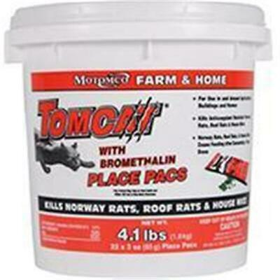 Motomco Ltd D-Tomcat With Bromethalin Place Pacs Pail 22 3oz 22022
