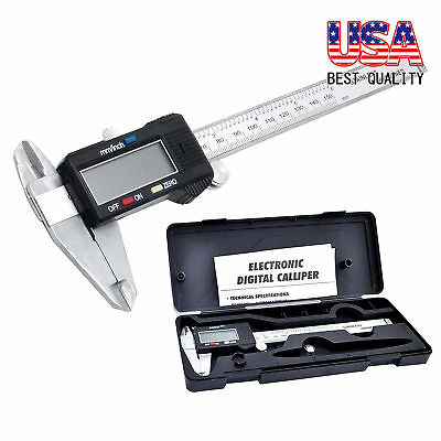 Digital Electronic Gauge Stainless Steel Vernier 300mm 12inch Caliper Micrometer
