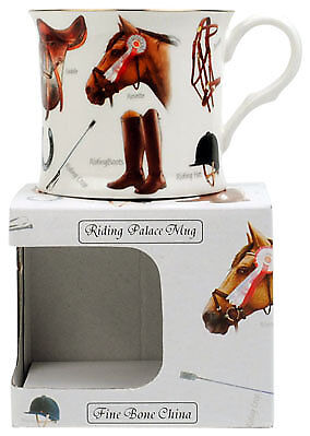 NEW Horses Fine Bone China Palace Tea Coffee Mug Cup Stoke on Kent