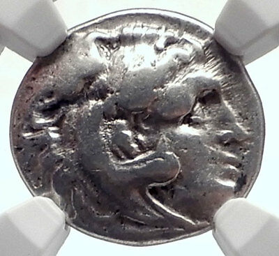 ALEXANDER III the Great 323BC Authentic Ancient Silver Greek Coin  NGC i72079
