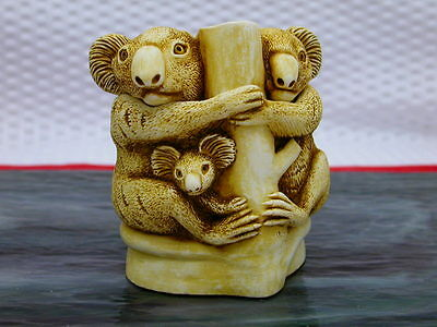 Harmony Kingdom Family Tree Koala Trinket Keepsake Original Box 1994