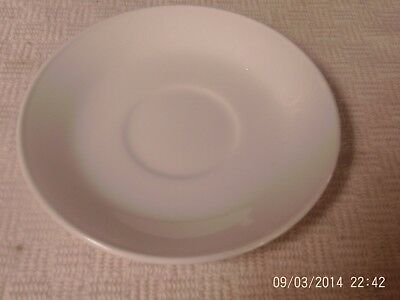 """Johnson Bros England Saucer Only For Tea Cup White Ironstone 5 3/4"""""""