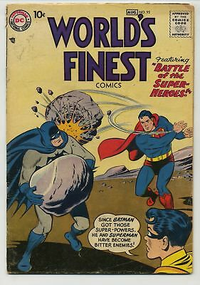 World's Finest Comics 95 Battle of the Super Heroes