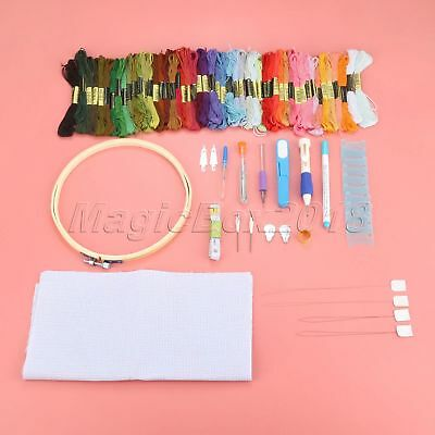 1Set DIY Magic Embroidery Pen Punch Needle Kits Knitting Sewing Tool Kit Punch