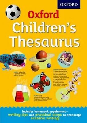 Oxford Children's Thesaurus by Oxford Dictionaries 9780192744029