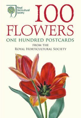 100 Flowers One Hundred Postcards from the Royal Horticultural ... 9780711234802