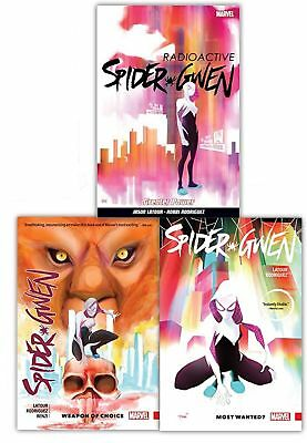 Spider-Gwen Jason Latour Collection Most Wanted 3 Books Set Weapon Of Choice NEW