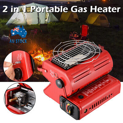 Portable Butane Gas Heater Camping Tent Hiking Outdoor Camper Survival Heat