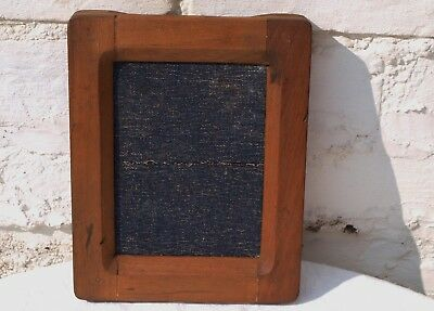 """OLD WOODEN CONTACT PRINT PICTURE PHOTO FRAME WM HUME ?? 6.1/2"""" x 4.3/4"""""""