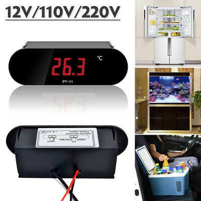 Digital Waterproof Aquarium Fish Tank Fridge Freezer Electronic LCD Thermometer