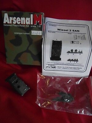 Arsenal..WIESEL 2 SAN.. Art.111100341.. Resin-Bausatz.. 1:87.. in OVP
