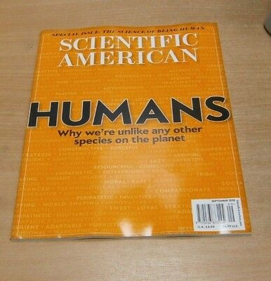 Scientific American magazine SEP 2018 The Science of Being Human