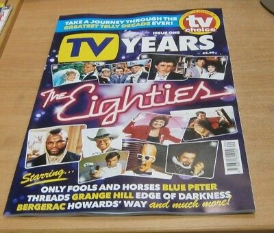 TV Years magazine Issue #1 2018 The Eighties, Only Fools & Horses, Grange Hill &
