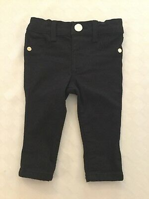 Girls Trendy River Island Jeans Age 0 - 3 Months VGC