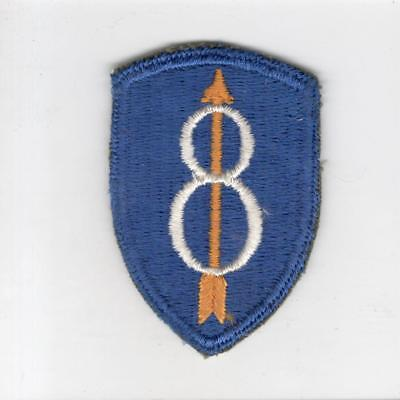 WW 2 US Army 8th Infantry Division Patch Inv# G209