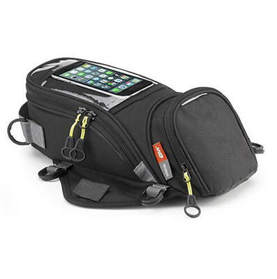 Motorcycle Fuel Tank Bag wallet Bike Storage Outdoor Universal Magnetic Black